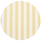 Candy-Stripe-Placemat-36cm-Yellow