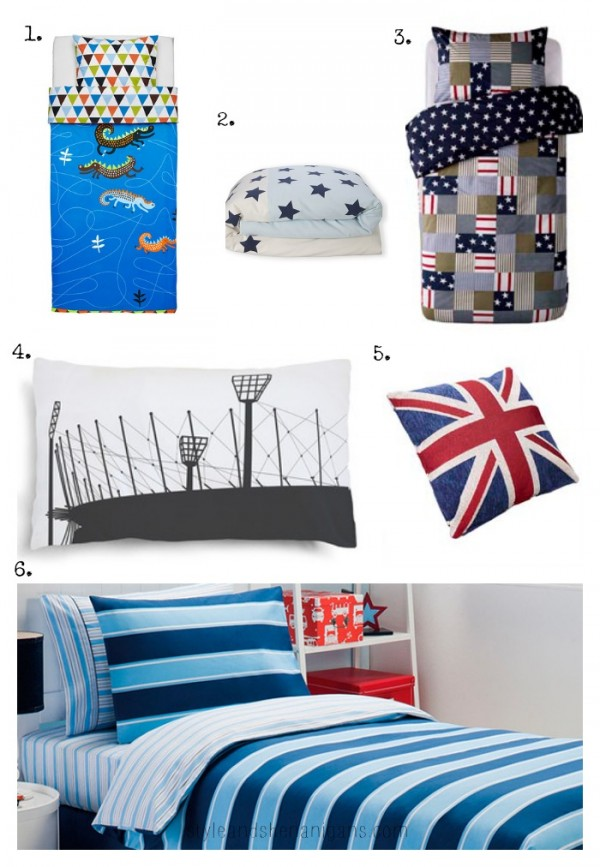 SnS Boys Spring Bed Linen