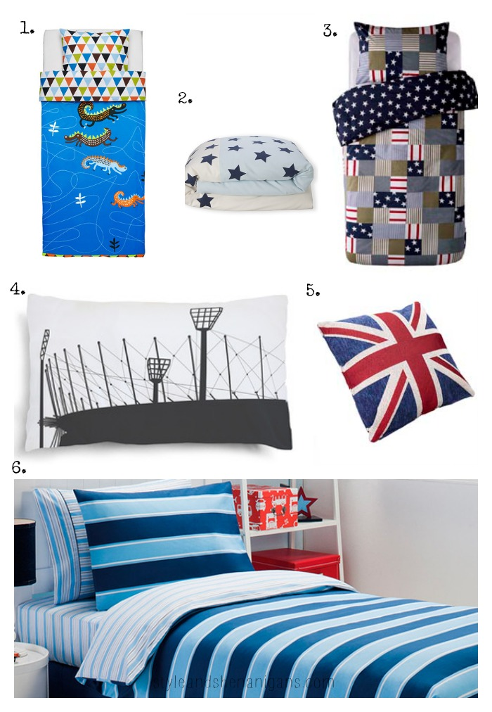Style Update: Boys & Girls Bed Linen - Style & Shenanigans