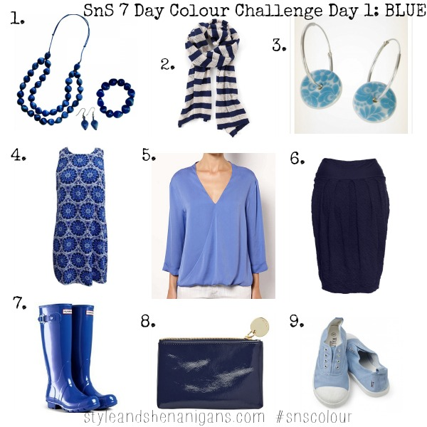 SnS 7 Day Colour Challenge Day 1 Blue