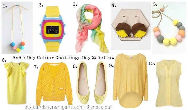 SnS 7 Day Colour Challenge Day 2 Yellow