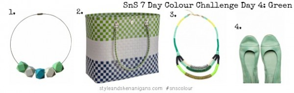 SnS 7 Day Colour Challenge Day 4 Green #2