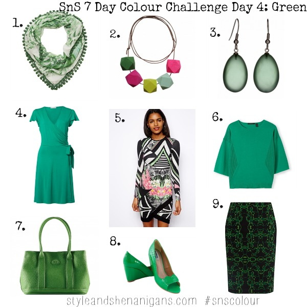 SnS 7 Day Colour Challenge Day 4 Green