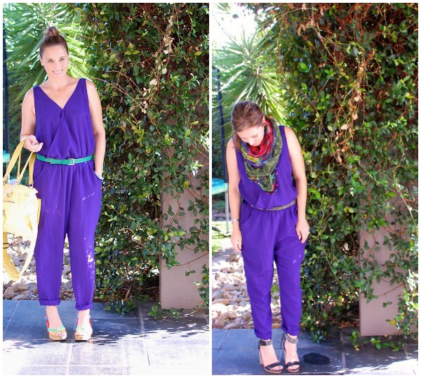 Redcliffe Style in Purple on Day 7 of the SnS 7 Day Colour Challenge