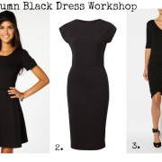 SnS Autumn Black Dress Workshop