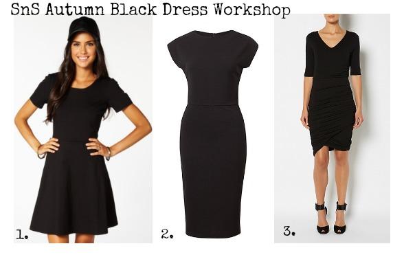 SnS Autumn Black Dress Workshop