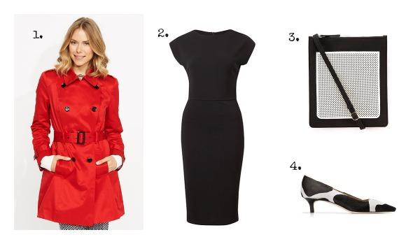 SnS Autumn LBD Outfit #2