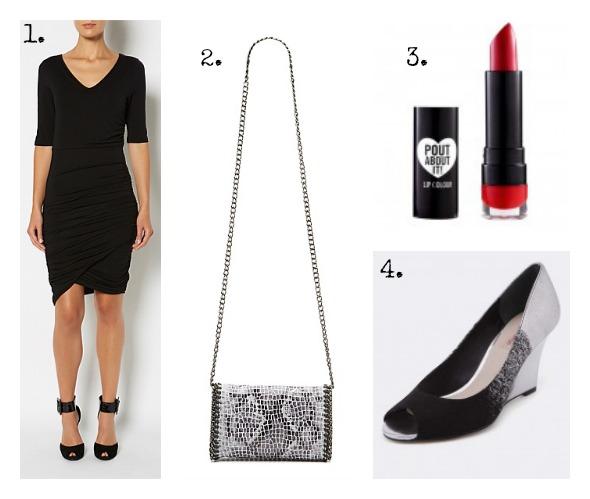 SnS Autumn LBD Outfit #4