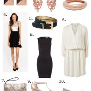 SnS How to Wear Rose Gold Collage