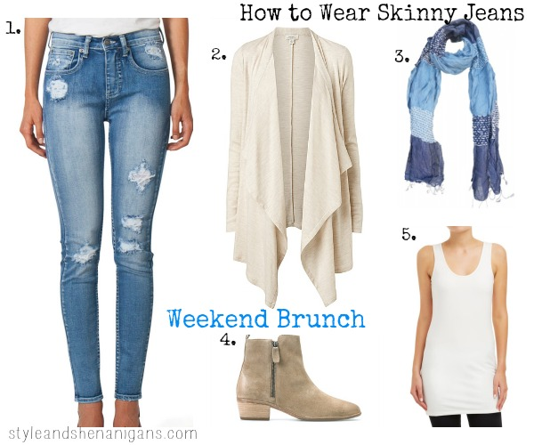 How to Wear Skinny Jeans - Style & Shenanigans