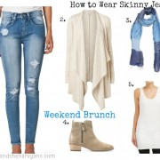 SnS How to Wear Skinny Jeans #2