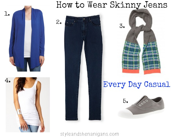 SnS How to Wear Skinny Jeans #4