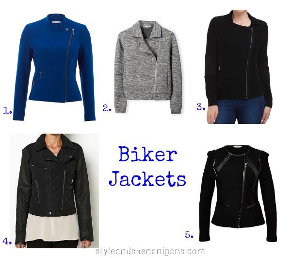 SnS Style Update Biker Jackets