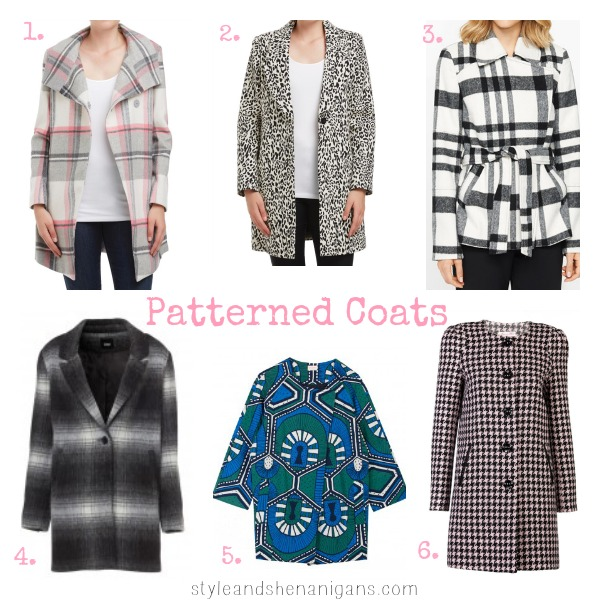 SnS Style Update Patterned Coats
