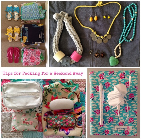 SnS Tips for Packing Collage