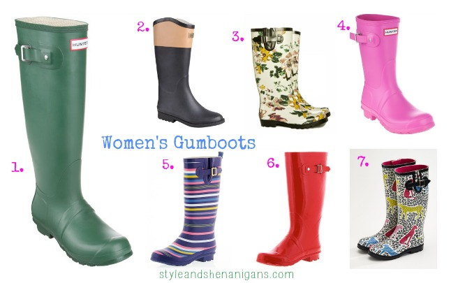 SnS Autumn/Winter Style Update: Gumboots for Women & Kids - Style ...