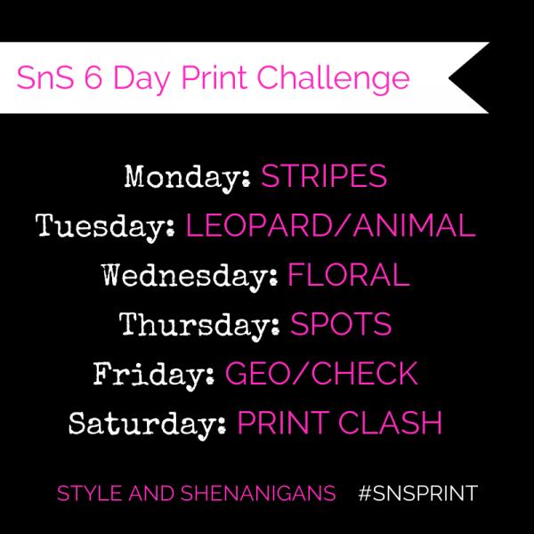 SnS 6 Day Print Challenge