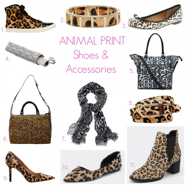 Style and Shenanigans 6 Day Print Challenge Animal:Leopard Print Shoes & Accessories