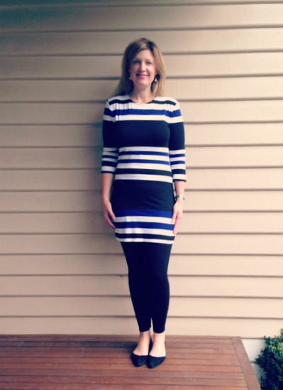 Style and Shenanigans Wearing Stripes