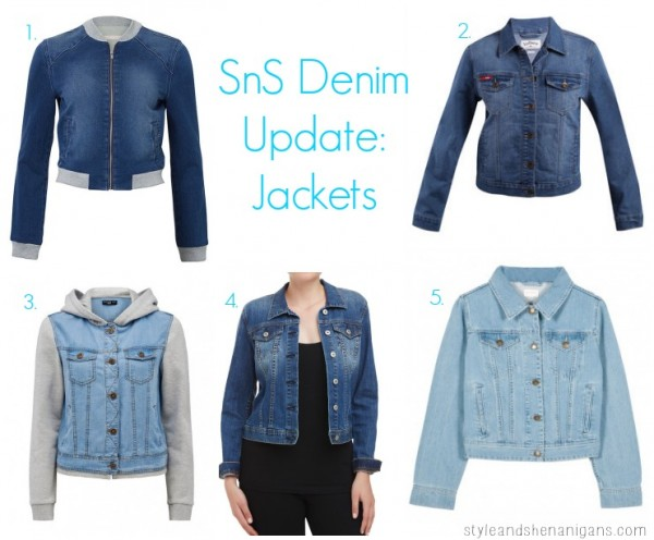 SnS Denim Update Jackets