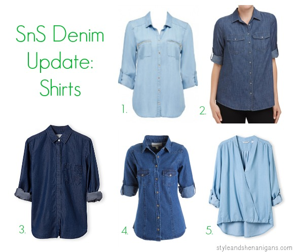 SnS Denim Update Shirts