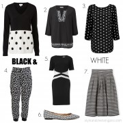 SnS Fashion Update Black + White