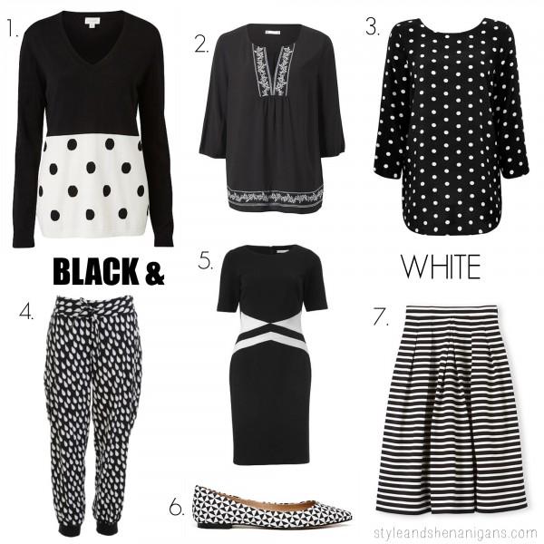 SnS Fashion Update Black + White