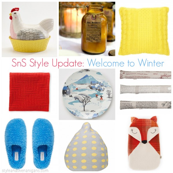 SnS Style Update Welcome to Winter