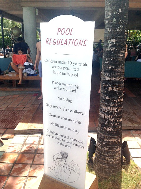 Regulations at Potato Head