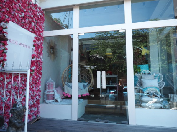 Bali Shopping - Rose Avenue