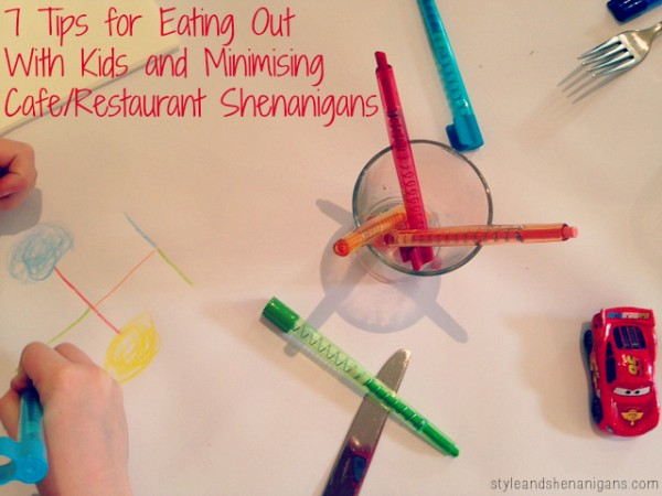 SnS Eating out With Kids Graphic