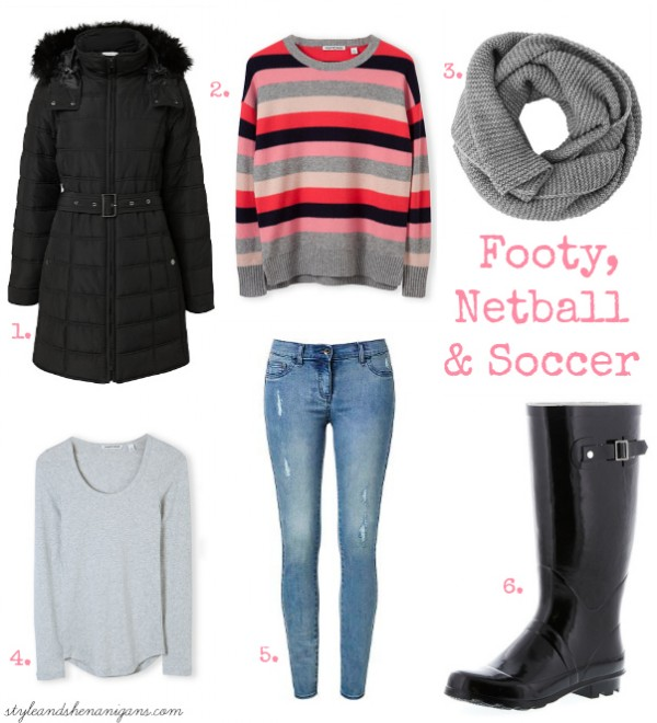 SnS What to Wear at Footy, Netball and Soccer