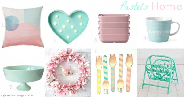 Style & Shenanigans Pastels at Home