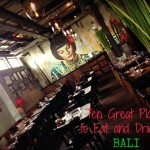 Style and Shenanigans Bali Eat & Drink Post Graphic
