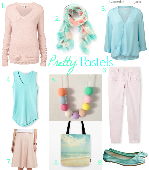 Style and Shenanigans Style Update Pretty Pastels