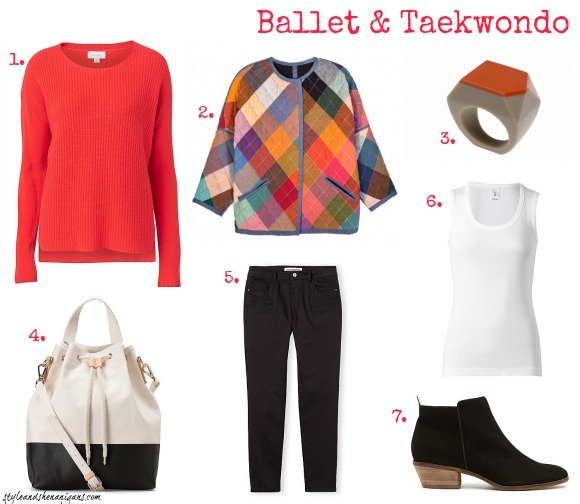 Style and Shenanigans What to Wear to Ballet & Taekwondo