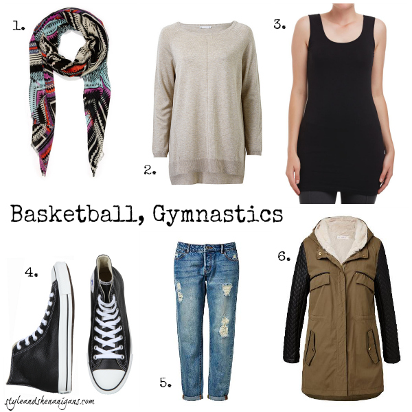 Style and Shenanigans What to Wear to Basketball & Gymnastics
