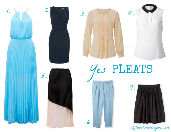 Style and Shenanigans Yes Pleats Collage