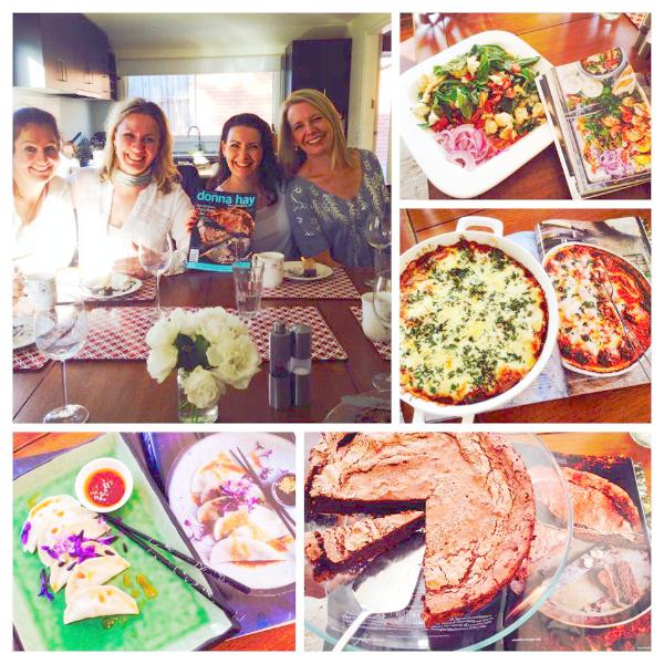 The Original Donna Hay Food Club Collage