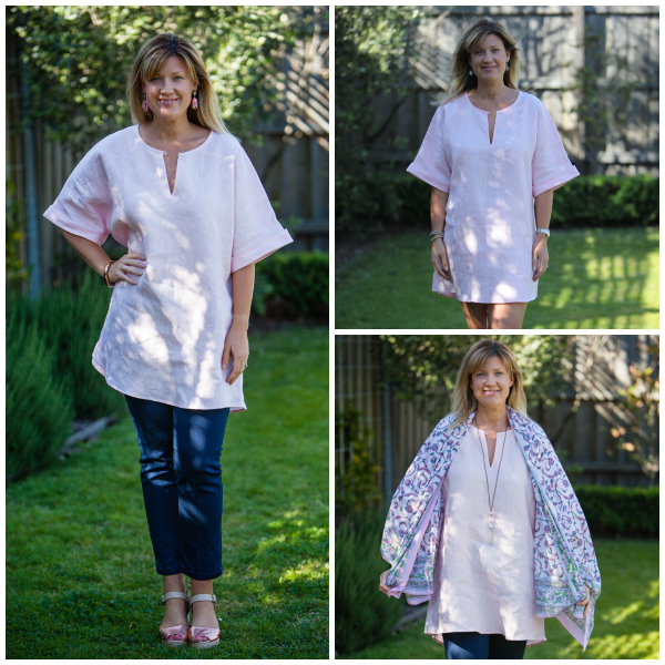 Style and Shenanigans - Bohemian Traders Dusty Linen Dress Styled 3 Ways