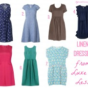 Style and Shenanigans Linen Dresses from Luxe to Less