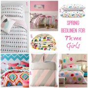 Style and Shenanigans Spring Bedlinen for Tween Girls