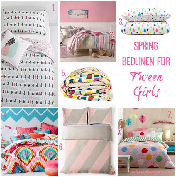 Style and Shenanigans Spring Bedlinen for Tween Girls