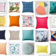 Style and Shenanigans- Spring Cushion Crush