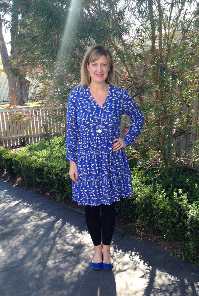 Style and Shenanigans wearing Friday's Frock