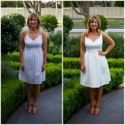 SnS Wearing White Frocks for Fridays Frocks