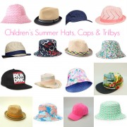 Style and Shenanigans Children's Summer Hats, Caps and Trilbys