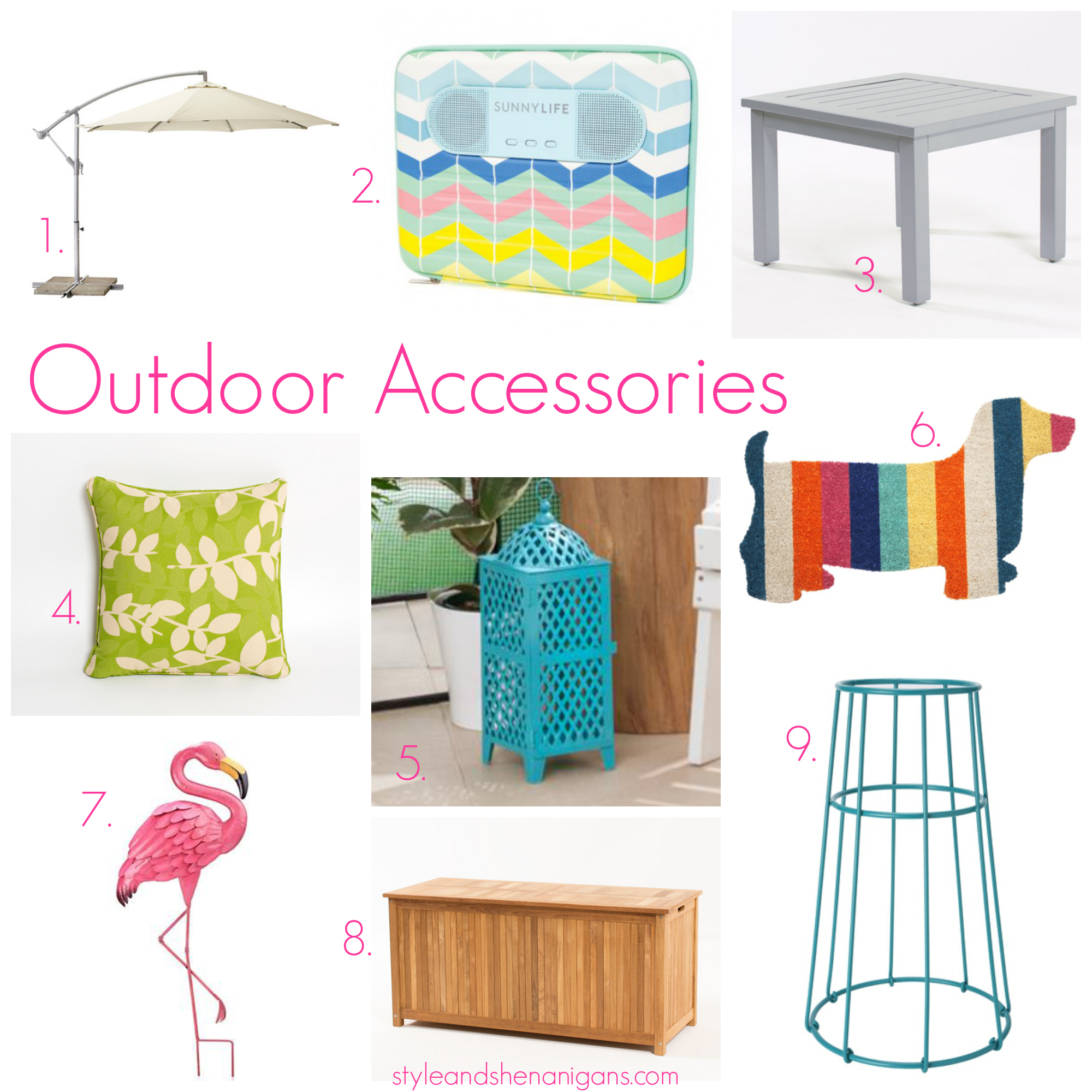 Outdoor Entertaining: Outdoor Furniture & Accessories
