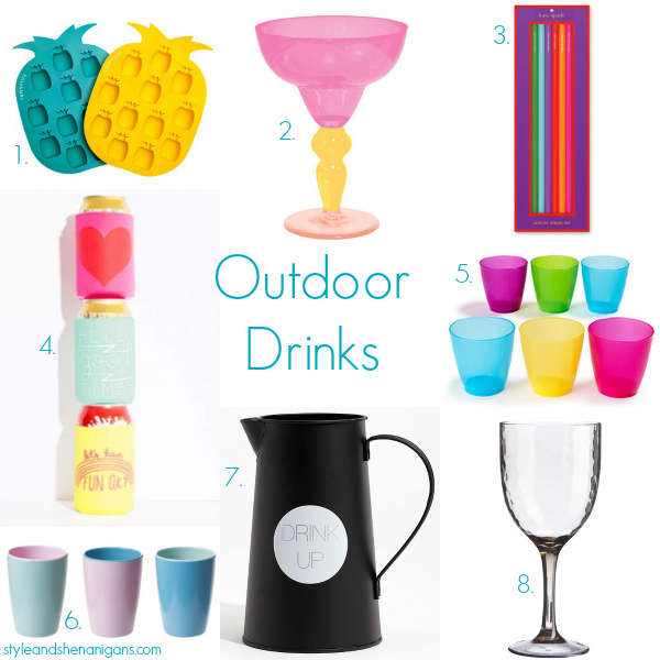 Style and Shenanigans Outdoor Drinks