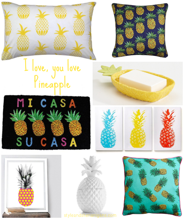 Style and Shenanigans Pineapples @ Home